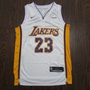 New NBA Los Angeles Lakers Lebron James Jersey #23
